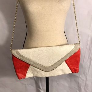 Steve Madden Purse Red & White & Red